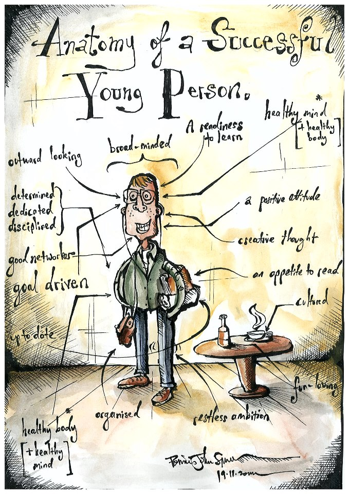 Anatomy of a Successful Young Person   Brian John Spencer
