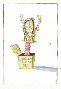 Here's a tribute to the Alliance party's Anna Lo who retained her Stormont seat in the 2011 elections.