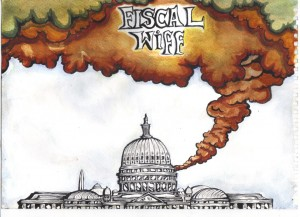The political grandstanding in Washington over the fiscal cliff caused a lot of bother. Both for the political climate & global financial markets. It showed demonstrably how central the US capital figures in global affairs. So my line was: Washington was kicking off a fiscal whiff.