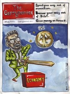 Introducing Ireland's latest weekly: the Gerrynomist. Gerry Adams is routinely criticized for his scan knowledge of economics. He must have his own school of economics. This is my offering on the matter.