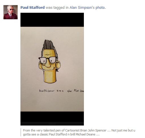 Alan Simpson - Simpsons Cartoon