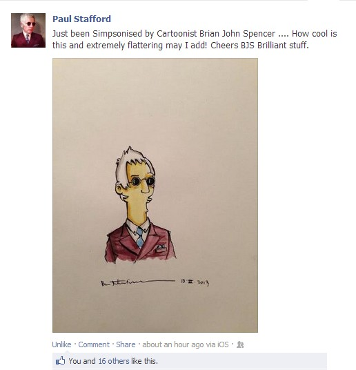 Paul Stafford Simpsons Pic