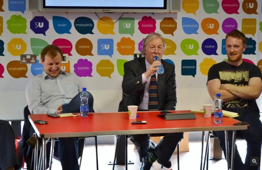 Brian John Spencer, Eamonn Mallie and Alan Meban